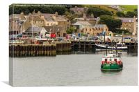 Stromness Harbour, Canvas Print