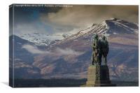 Commando Memorial, Canvas Print