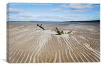 Nairn Beach, Canvas Print