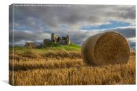 Duffus Castle, Canvas Print