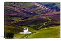 Corgarff Castle, Canvas Print
