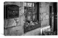 Harbour Shop, Canvas Print