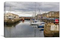 Lossiemouth Harbour, Canvas Print