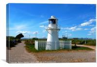 East Usk Lighthouse                         , Canvas Print