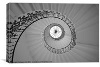The Spiral Staircase, Canvas Print