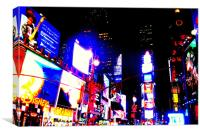 The Crossroads of the World, Canvas Print