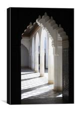 Moroccan Arches, Canvas Print