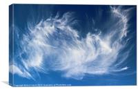 Mystical Cloud Formation, Canvas Print