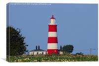 Happisburgh Lighthouse Norfolk (2), Canvas Print