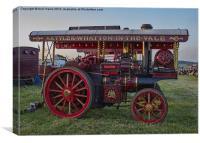 Showmans Engine, Canvas Print