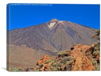 Mount Teide Tenerife, Canvas Print