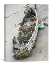 Years at sea, Canvas Print