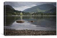 Grasmere Shore, Canvas Print
