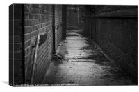 Back Alley, Canvas Print