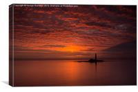 Red Dawn, Canvas Print