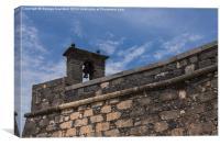 The Bell of Castillo de San Gabriel, Canvas Print