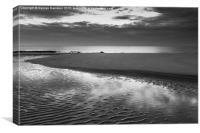Silence the Dawn 2, Canvas Print