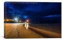 Lanzarote Nights 01, Canvas Print