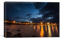 Lanzarote Nights 02, Canvas Print