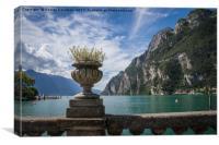 Riva Del Garda 02, Canvas Print