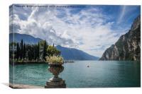 Riva Del Garda 03, Canvas Print
