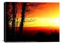 Sunday Sunrise, Canvas Print