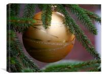 Christmas Glitter, Canvas Print
