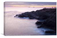 Sunset at Constantine Bay, Canvas Print