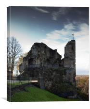 Knaresborough Castle, Canvas Print