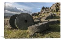 Stanage Edge The Forgotten Stones, Canvas Print