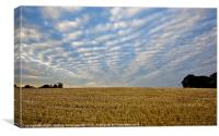 Chasing Clouds, Canvas Print