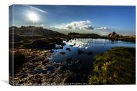 Doxey Pool, The Roaches, Canvas Print
