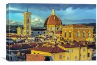Florence Golden Hour, Canvas Print