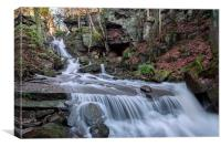Bentley Brooke Water Falls, Canvas Print