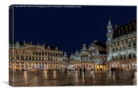 """Brussels """"Its a Grand Place"""", Canvas Print"""
