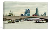 London Transport, Canvas Print