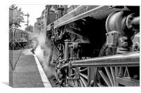 """Steam Train  """"All Aboard"""", Canvas Print"""