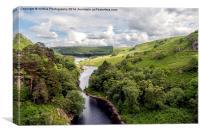 Wales, Pen Y Garreg, Canvas Print