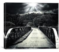 bridge of dreams 2, Canvas Print
