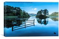 Serene Derwent Water, Canvas Print