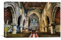 Saint Marys Church, Canvas Print