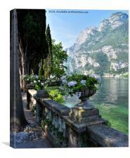 Lake Garda Italy, Canvas Print