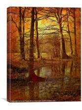 Autumn Texture, Canvas Print