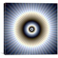 Circular Abstract, Canvas Print