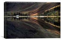 Buttermere Reflection, Canvas Print