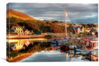 View From Port Arthur Marina, Canvas Print