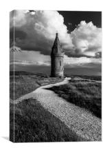 Hartshead Pike, Greater Manchester UK, Canvas Print