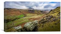 Eskdale Valley, Canvas Print