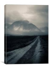 Glen Etive Road, Canvas Print