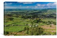 Derbyshire Countryside, Canvas Print